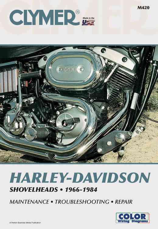 Harley-Davidson Shovelheads, 1966-1984 By Wright, Ron